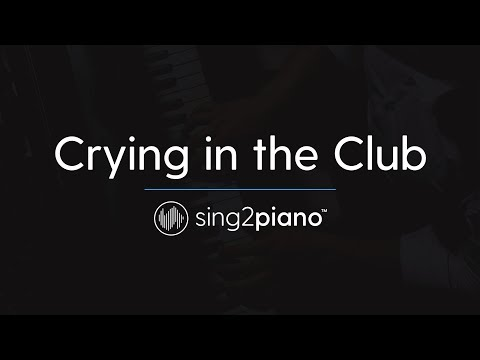Crying in the Club [Piano Karaoke Instrumental] Camila Cabello