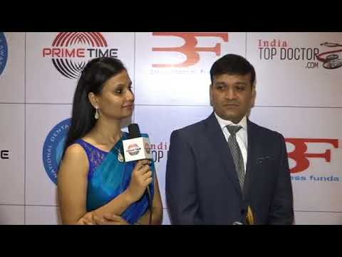 Interview on receiving National Dental Excellence Award 2016 by Prime Time