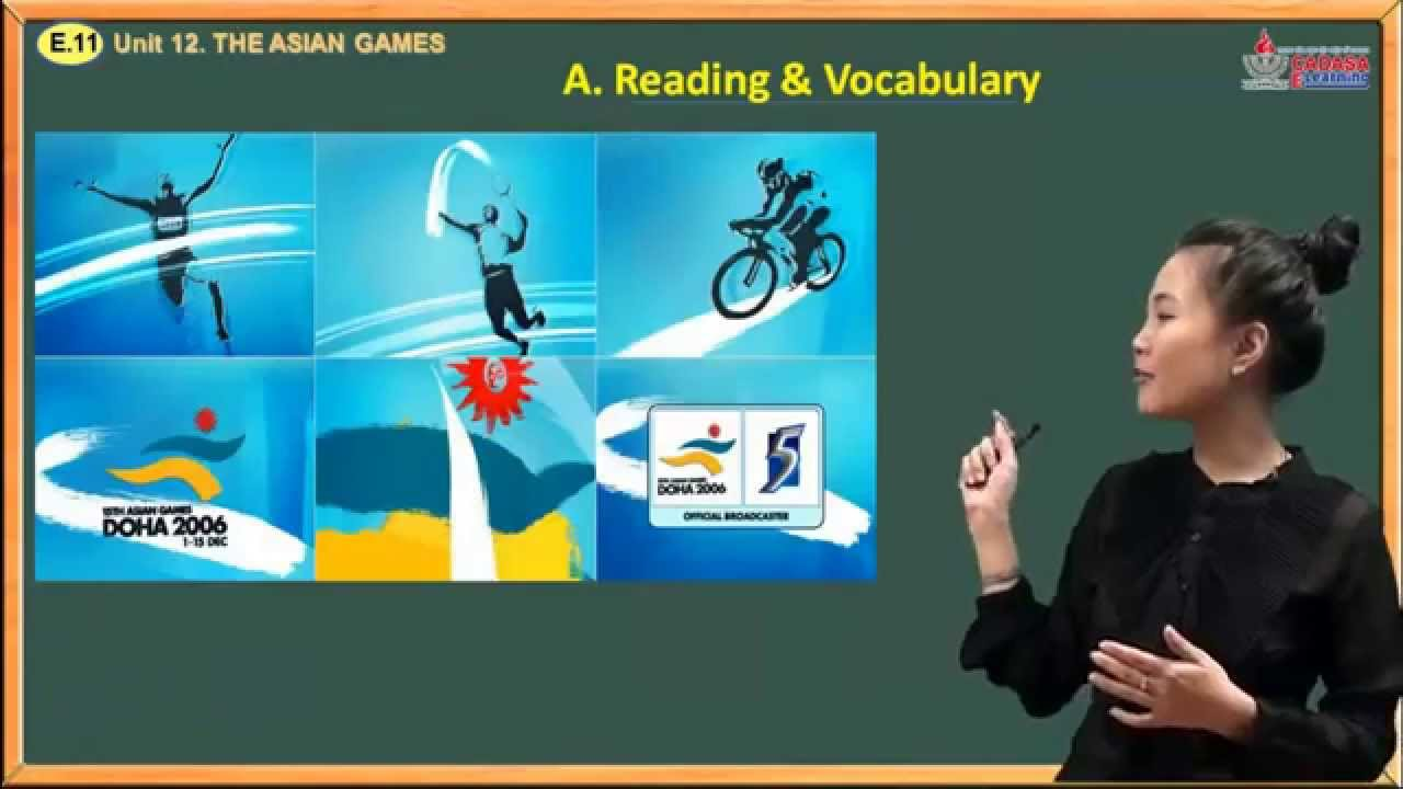 Ngữ pháp tiếng Anh lớp 11 – Unit 12. The Asian Games – Reading And Vocabulary