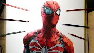 Drawing Spiderman ( PS4 ) - 2018