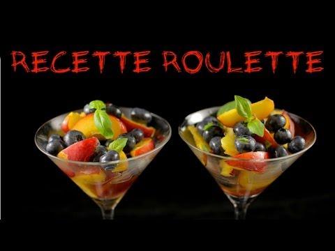 Recette : Salade myrtilles et nectarines