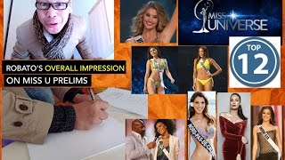 Miss Universe 2016 Top 12 Prediction !!! Robato's Most-awaited Top 12 List.