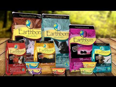 Earthborn Holistic  Natural GrainFree Dog Formulas