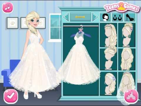 Мультик игра Холодное сердце: День свадьбы Эльзы и Анны (Frozen Sisters Wedding Party)