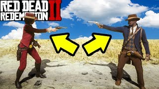 SECRET DUEL SYSTEM in Red Dead Redemption 2 YOU DONT KNOW ABOUT!