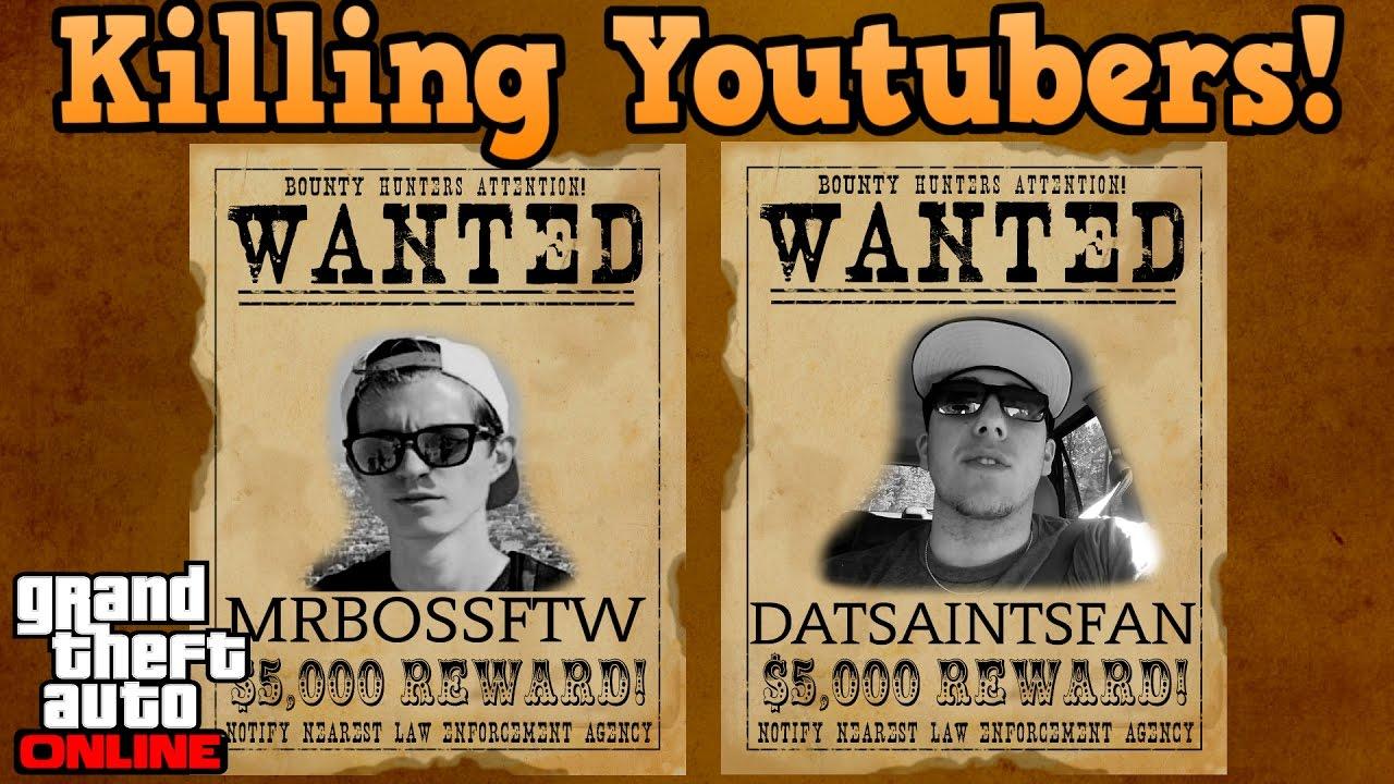 Download Killing Mrbossftw & Datsaintsfan both in 1 lobby - GTA online