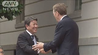 日米貿易協議「早期に成果」 実務者協議加速へ(19/06/14)