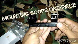 Cara pasang handphone di teleskop dudukan hp di scope videourl