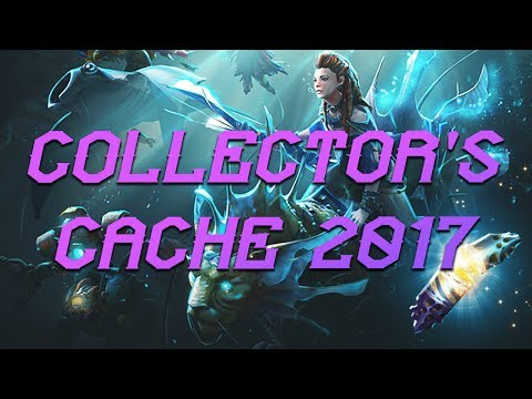 DOTA 2: The International 2017 Collector's Cache Review