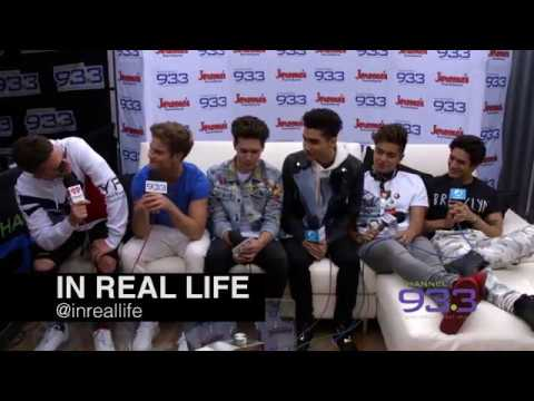 In Real Life backstage interview at Channel 933's Summer Kick Off Concert