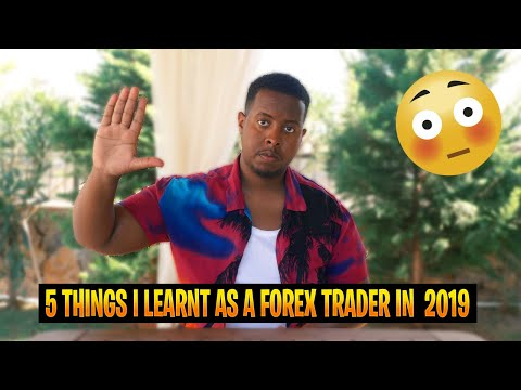 5 Lessons I Learnt Trading Forex In 2019