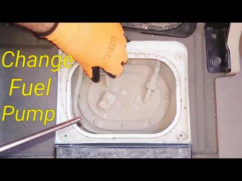 change fuel pump _ kia sportage 2010 _ 2009 _ 2008 _ 2007 (video 22)