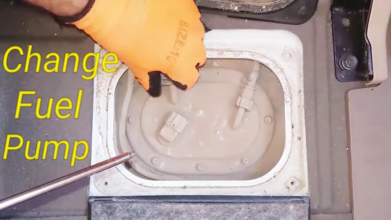 change fuel pump kia sportage 2010 2009 2008 2007 video 22  [ 1280 x 720 Pixel ]