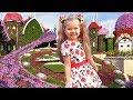 VLOG Удивительный Парк Цветов в Дубае - Dubai Miracle Garden