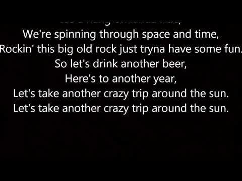 Trip Around the Sun Kenny Chesney Lyrics