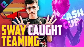FaZe Sway Caught Cheating in Fortnite Cash Cup - Punishment?