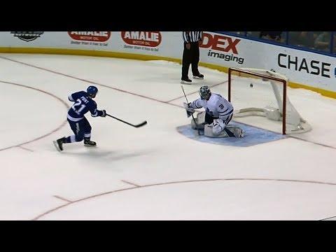 Complete Maple Leafs - Lightning shootout   Feb. 26