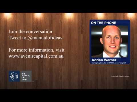 Applying Private Equity Principles - Adrian Warner of Avenir Capital
