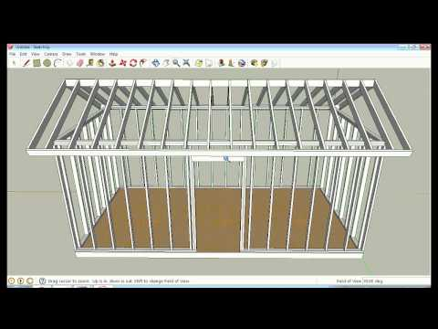Sketchup Framing Lesson by Solarcabin