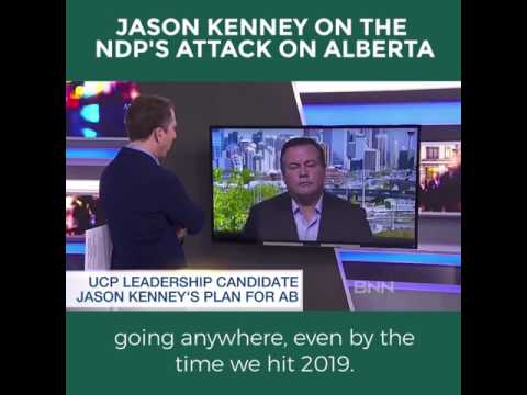 Jason Kenney on the NDP's Attack on Alberta