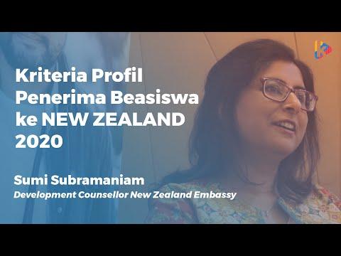 Sumi Subramaniam: Inilah Kriteria Pelamar yang Dicari New Zealand Scholarship 2020 - KalderaNews