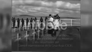 Documento histórico: así enterraron soldados británicos a sus pares argentinos en Malvinas