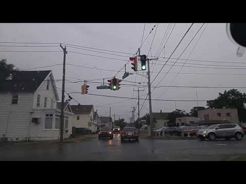 Driving by West Haven,Connecticut