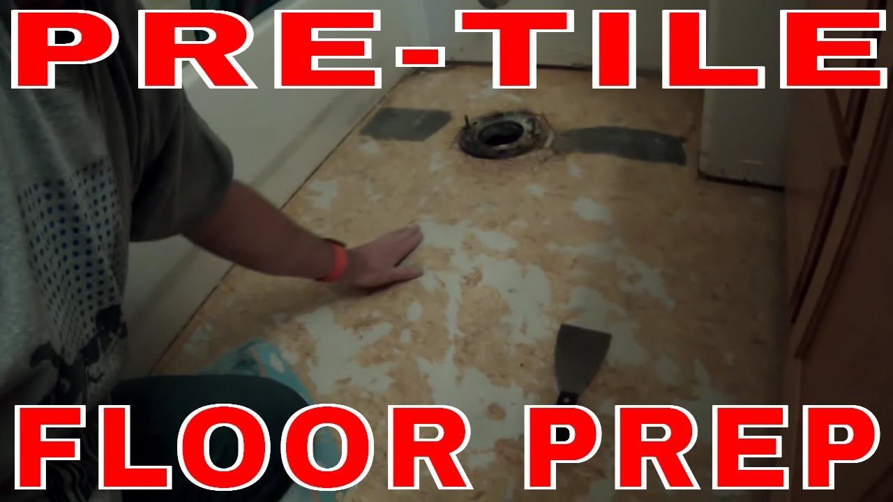 How to remove vinyl floor and tile a small bathroom diy tile youtube dailygadgetfo Choice Image