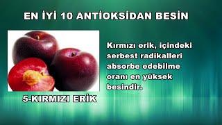En İyi 10 Antioksidan Besin