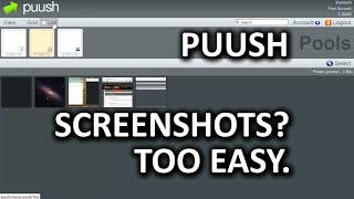 Luke's Software Discoveries #1: Puush - Screenshots Simplified