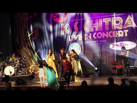 #K S Chithra# | Multilingual Audience choice songs| Live Concert in Ireland 2018|