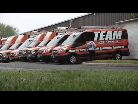 Team Electric, Plumbing & Air New Jersey's Most Trusted Home Service Companyy