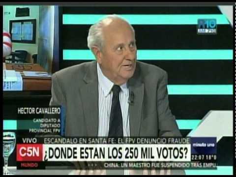 C5N - MINUTO UNO: EL ESCANDALO EN SANTA FE EL FPV DENUNCIO FRAUDE