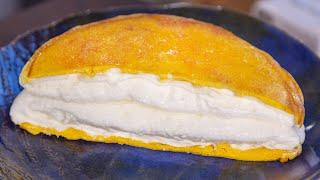 Омлет Матушки Пуляр. Самый воздушный омлет в мире. Готовлю в сковороде. Французский рецепт