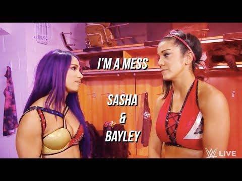 i'm a mess | sasha banks & bayley