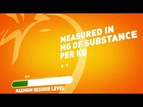 Pesticide residues - What are Maximum Residue Levels (MRLs), and is my food safe?