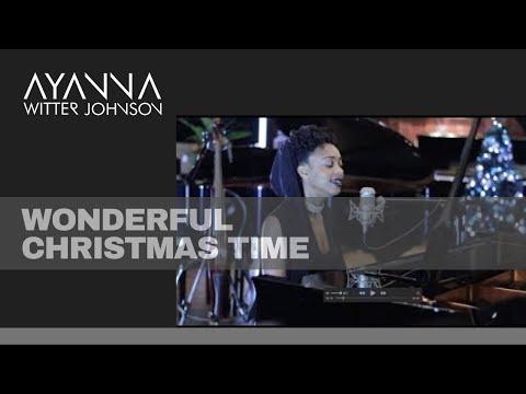 Ayanna Witter-Johnson sings Wonderful Christmas Time
