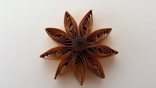 Quilling - Floare - Tutorial 1 - AidaCrafts