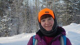 На Лыжах по Таёжной Реке