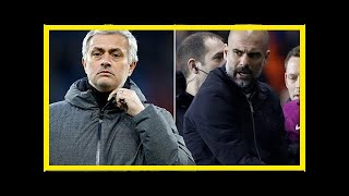 Jose Mourinho aims dig at Manchester City's behaviour in defeat - by Sports News
