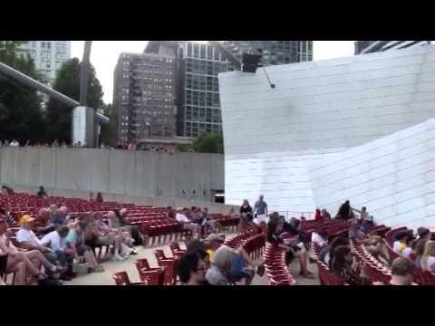 Free Concert, Millenium Park, Chicago, 6/17/2013