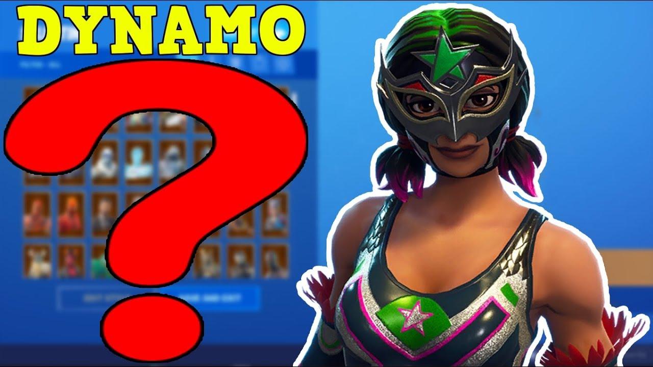 BEST SKIN IN FORTNITE: DYNAMO (#4)   BEST DYNAMO SKIN COMBOS!