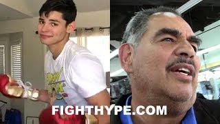"RYAN GARCIA RESPONDS TO DISS BY GOLOVKIN TRAINER SANCHEZ: ""LUCKILY I CUT OUT SALT"""
