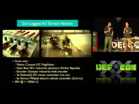 DEF CON 20 - Joe Grand and Zoz More Projects of Prototype This!