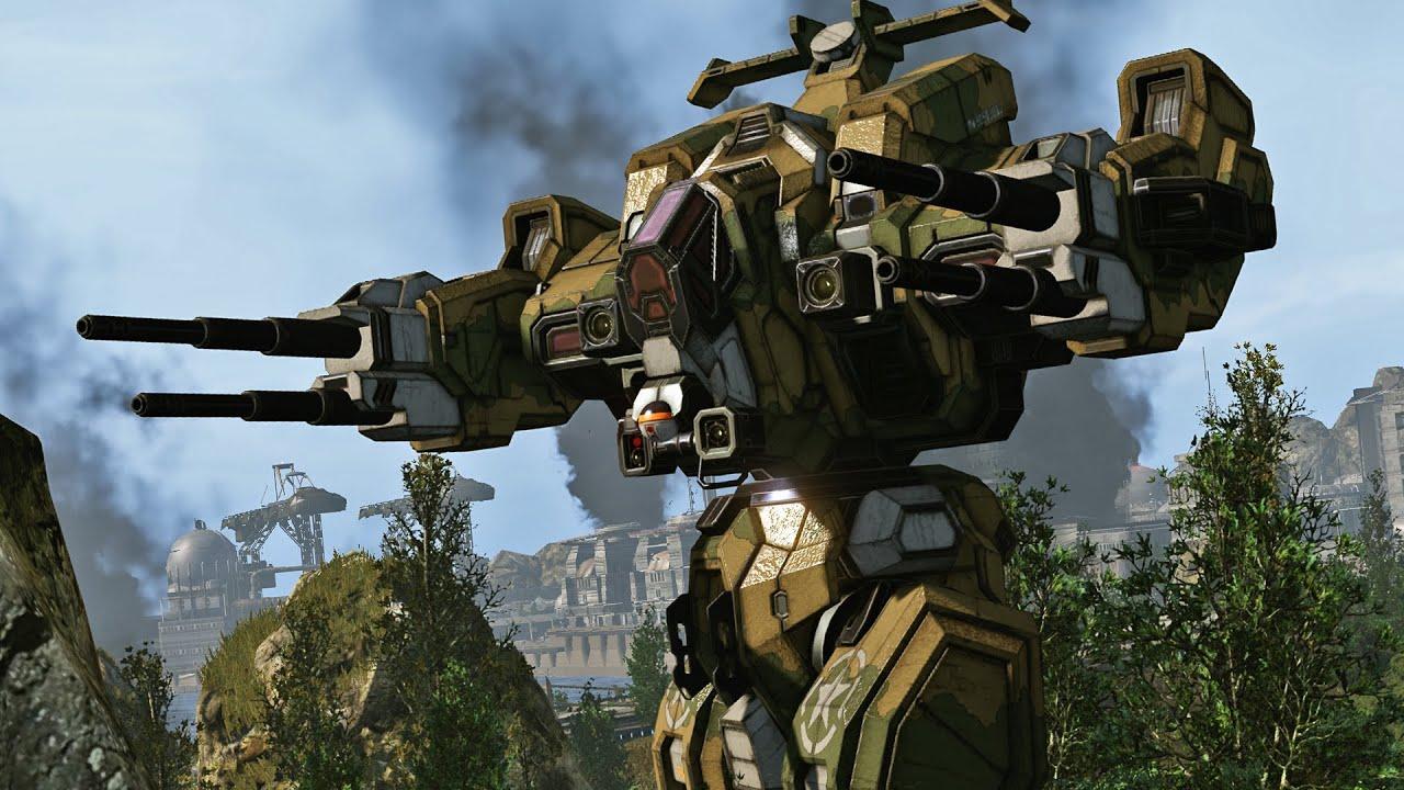 Mechwarrior Online More Guns More Fun Youtube