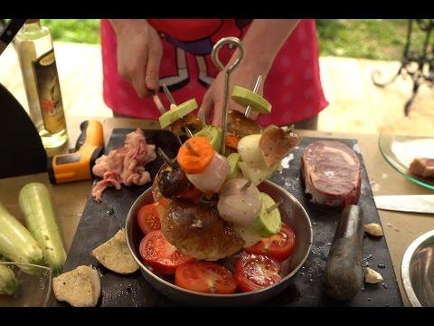 как готовить в тандыре видео