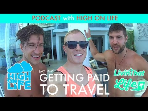 The High On Life Story – How to Quit Your Job & Travel 🌴(and get Paid to) – Podcast in Bali!