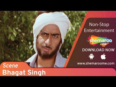 Ajay Devgn 'Bhagat Singh' & Britisher's in India argument scene | The Legend Of Bhagat Singh scene
