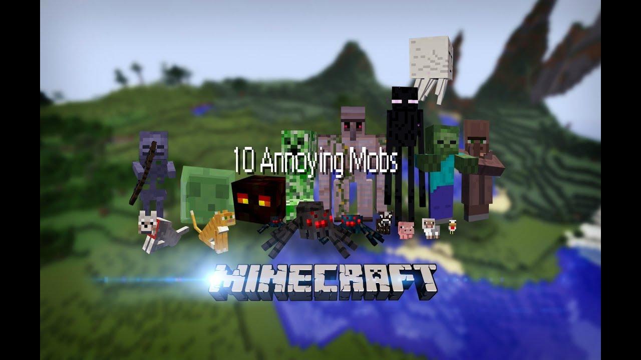 10 Annoying Mobs in Minecraft