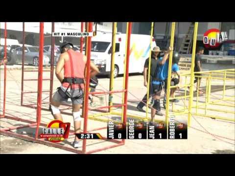 Calle 7 Panamá - Competencia 1 hit 1 hombres 9 feb
